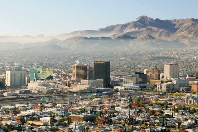El Paso is the largest city of Western Texas and the second most important city along the U.S. and Mexico border.